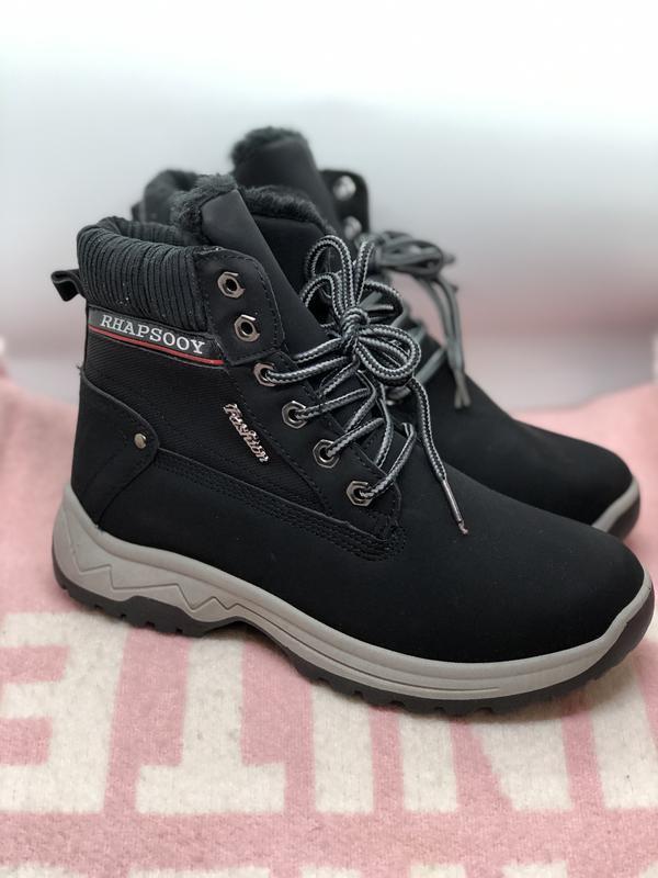 Зимние ботинки, кроссовки с мехом