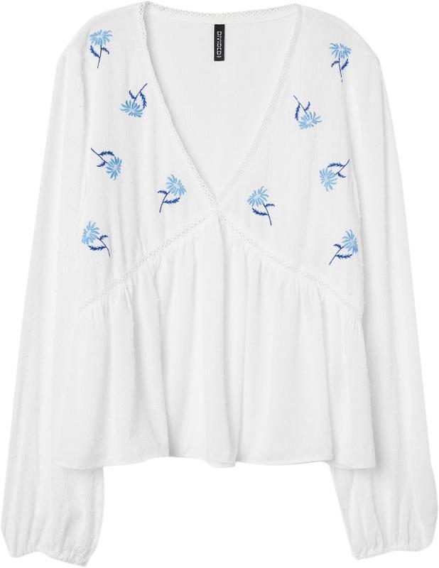Нежная блуза от h&m