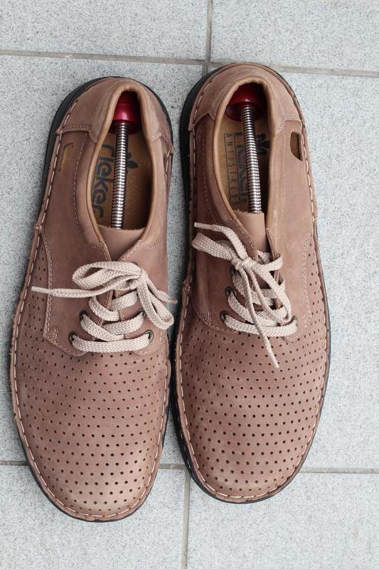 Туфли натуральная кожжа rieker оригинал