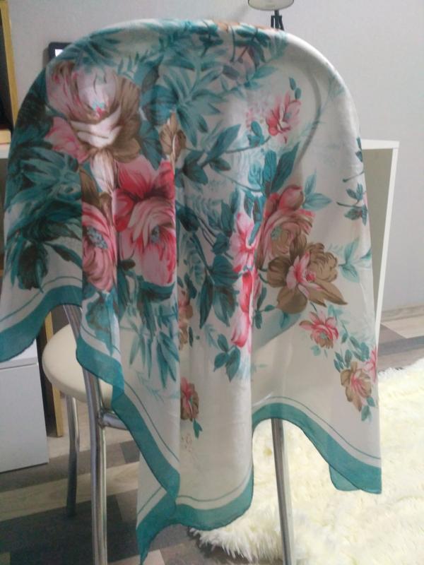 Шейный платок шелк