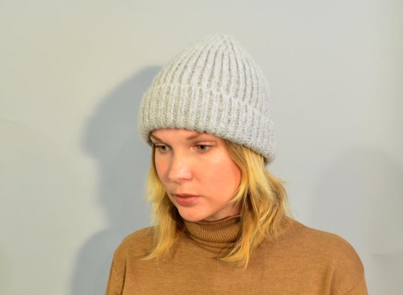 4017\20 шапка светло-серого цвета new look