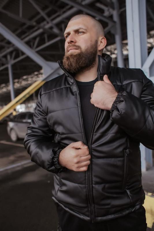 Куртка мужская весна - Фото 2
