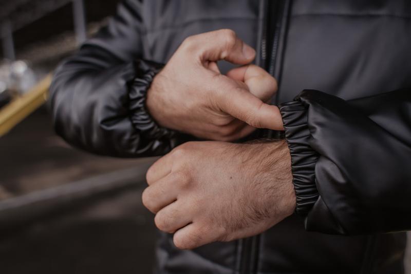 Куртка мужская весна - Фото 4