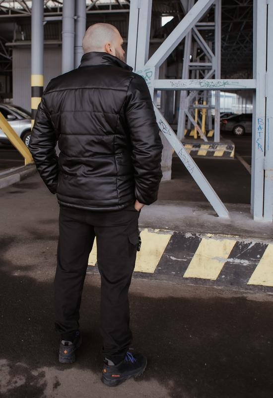 Куртка мужская весна - Фото 3