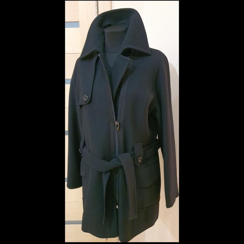 Elena miro, пальто, размер 50, цвет черный