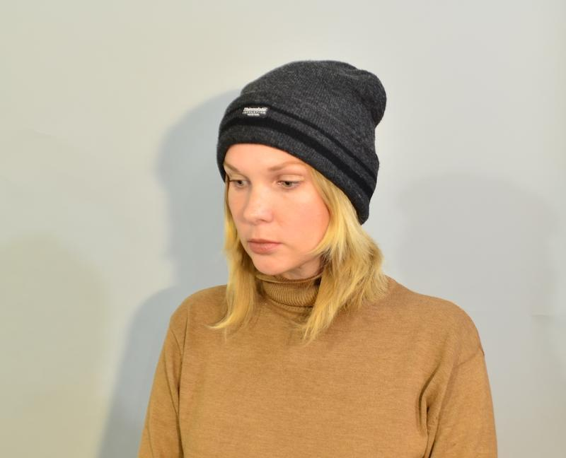 4022\20 темно-серая шапка thinsulate