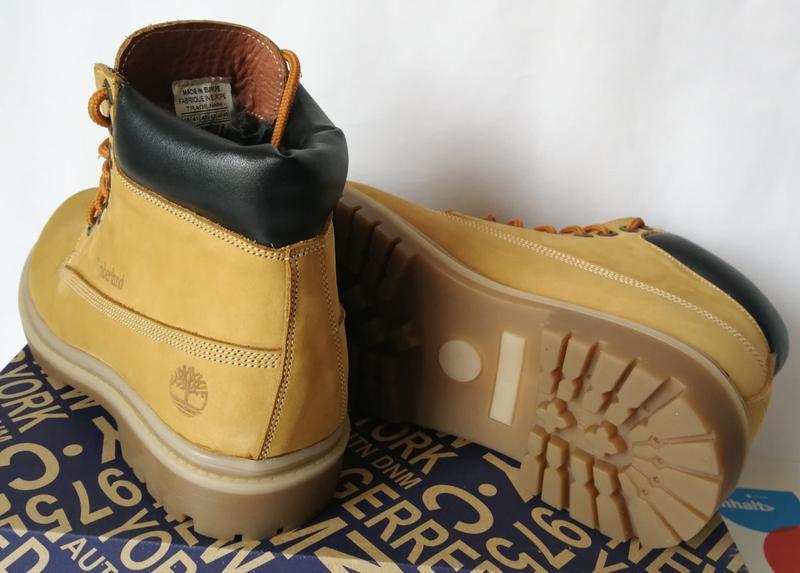 Натуральная кожа зимние мужские ботинки тимберленд натуральный... - Фото 2