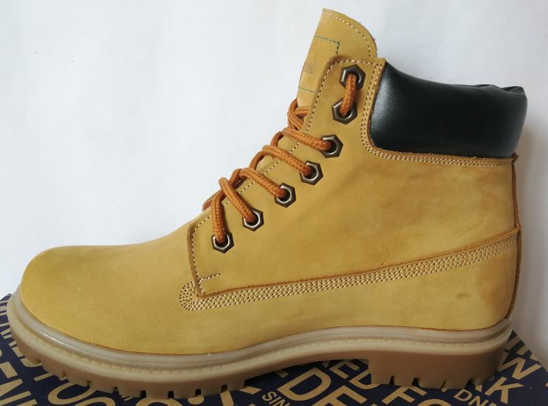 Натуральная кожа зимние мужские ботинки тимберленд натуральный... - Фото 4