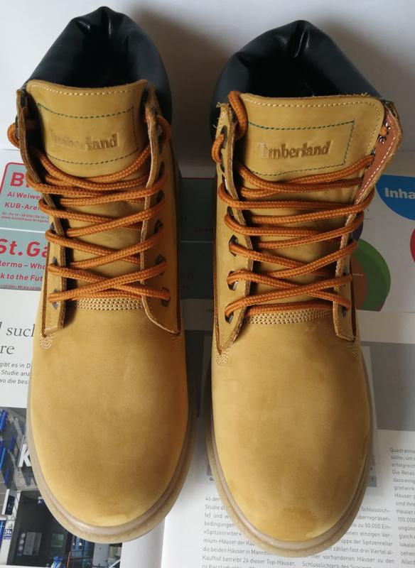 Натуральная кожа зимние мужские ботинки тимберленд натуральный... - Фото 9