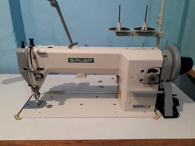 Швейная машина  Siruba YF 616X2 двойного транспорта .
