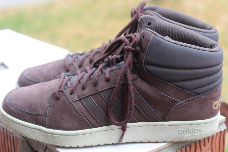 Утепленные ботинки adidas 45-46