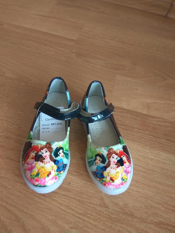 Туфли с подсветкой, р.26 - Фото 4