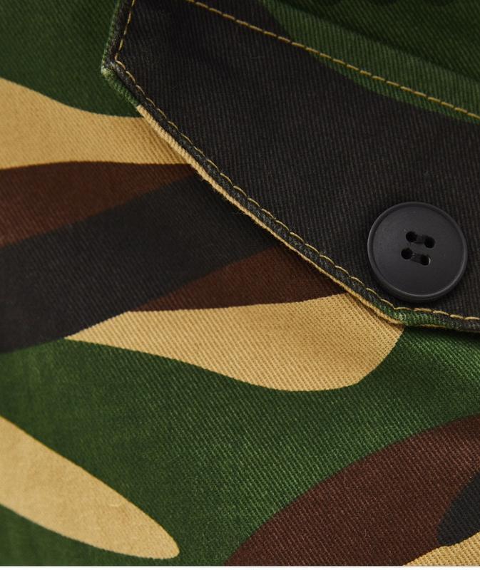Камуфляжные брюки карго  utility bershka - Фото 6