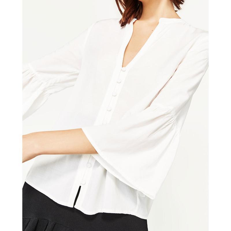 Красивая воздушная блузка zara