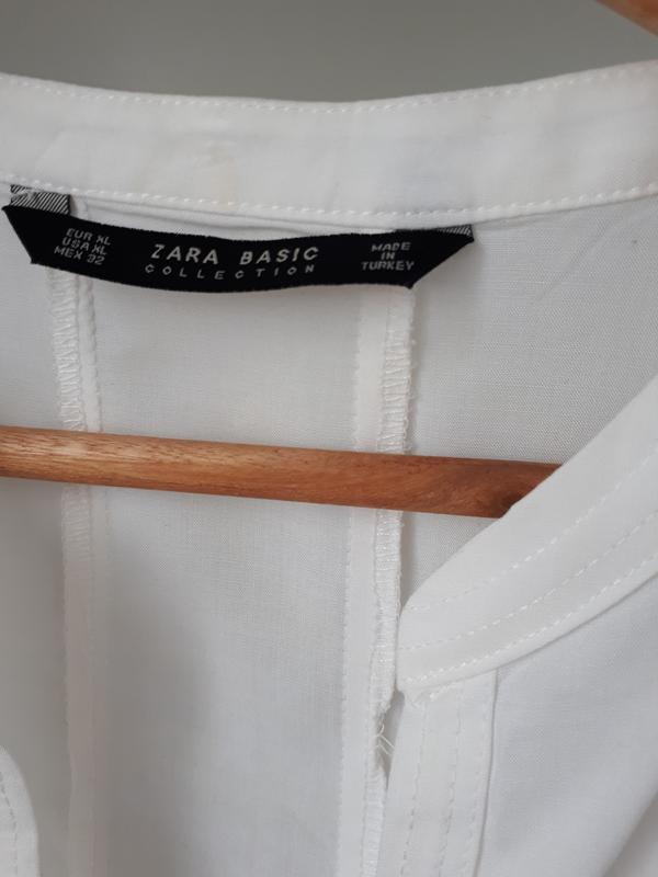 Красивая воздушная блузка zara - Фото 5