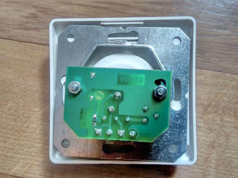 Регулятор швидкості Vents Р-1/010(без монтажної коробки) - Фото 3