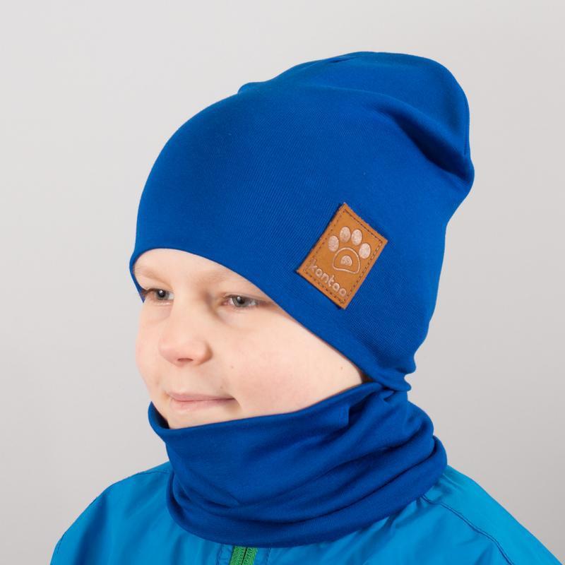 Детская шапка с хомутом