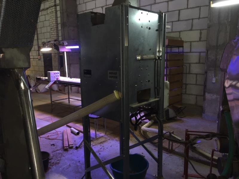 Машина доочистки (докольщик) для грецкого ореха французской фирмы - Фото 2