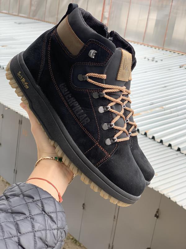 Мужские зимние ботинки {натуральная кожа} - Фото 3