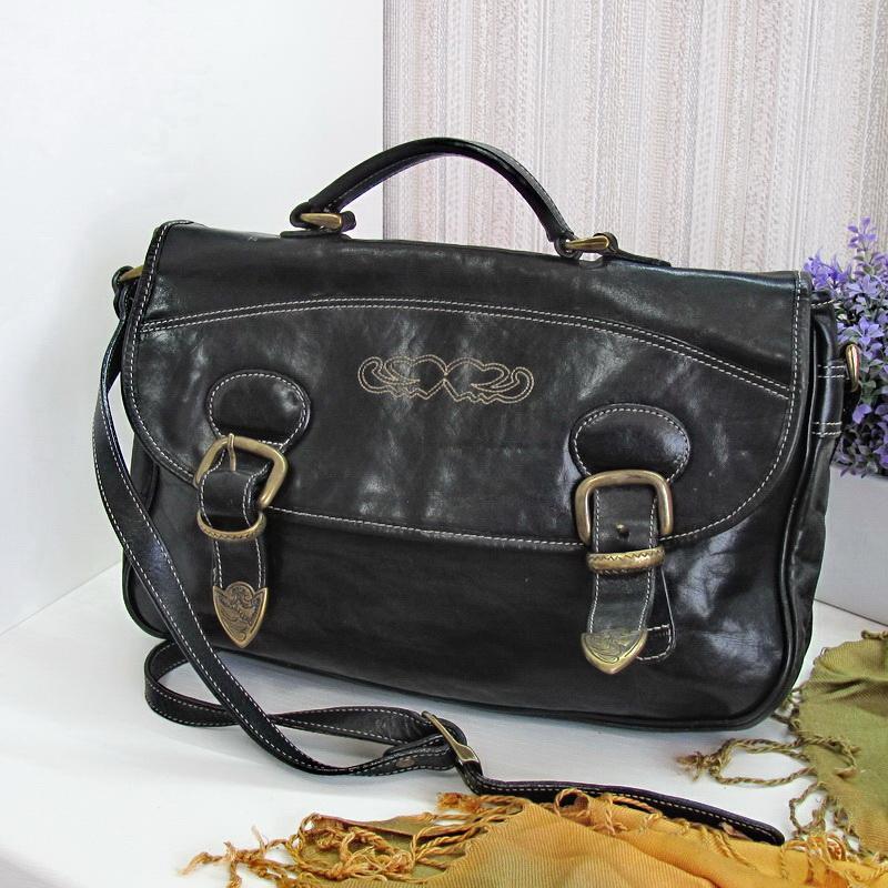 Практичная сумка кроссбоди claudio ferrici, италия, натуральна...