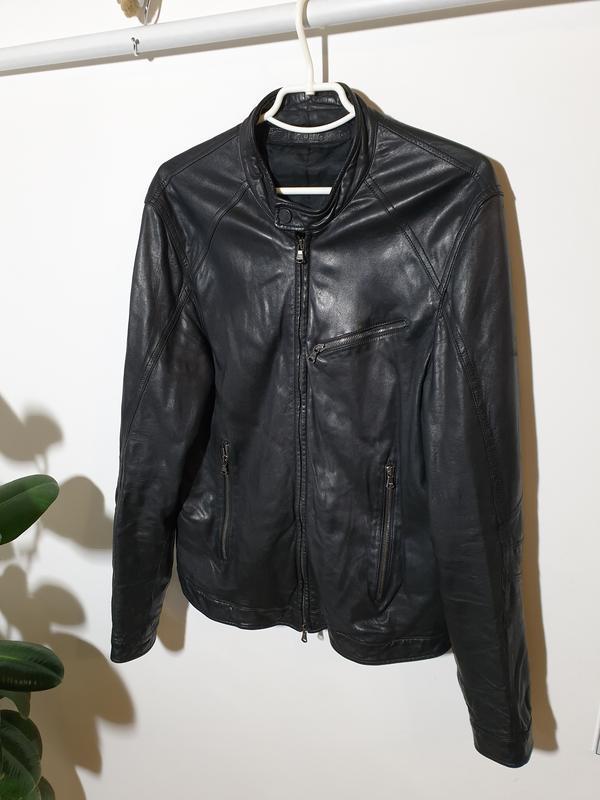 Кожаная куртка drome - Фото 2