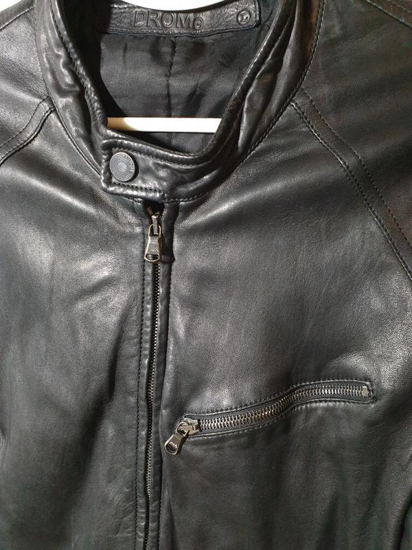 Кожаная куртка drome - Фото 3