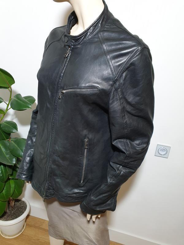 Кожаная куртка drome - Фото 8