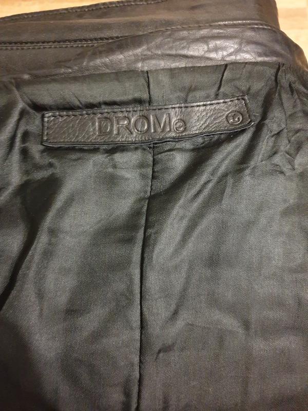 Кожаная куртка drome - Фото 9