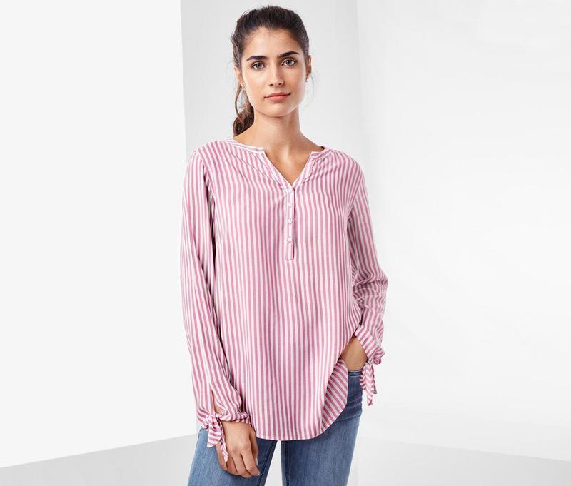 Стильная блузка-туника из вискозы тсм чибо германия размер 42 ...