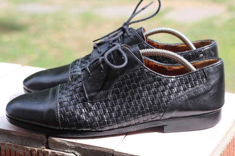 Классические кожанные туфли