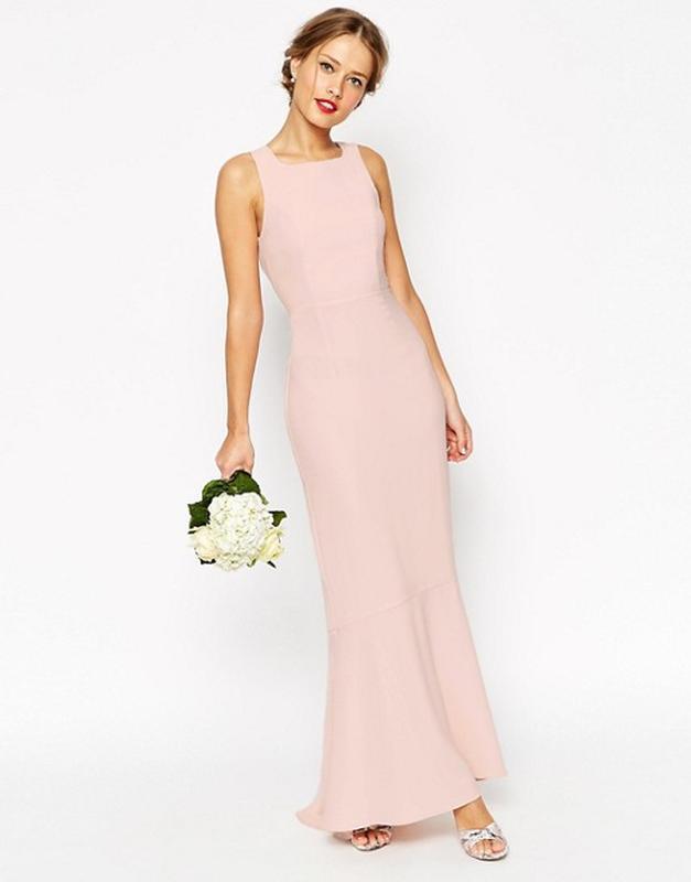 Свадебное (вечернее) платье со шлейфом ASOS, M