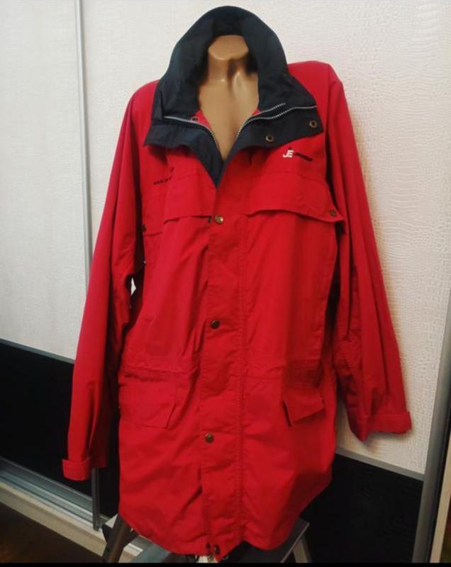 Мужская весенняя осенняя куртка ветровка дождевик clique - Фото 3