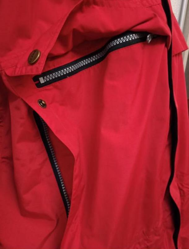 Мужская весенняя осенняя куртка ветровка дождевик clique - Фото 4