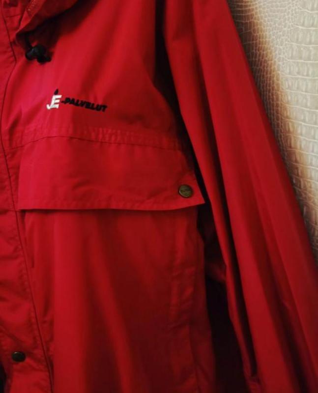 Мужская весенняя осенняя куртка ветровка дождевик clique - Фото 5
