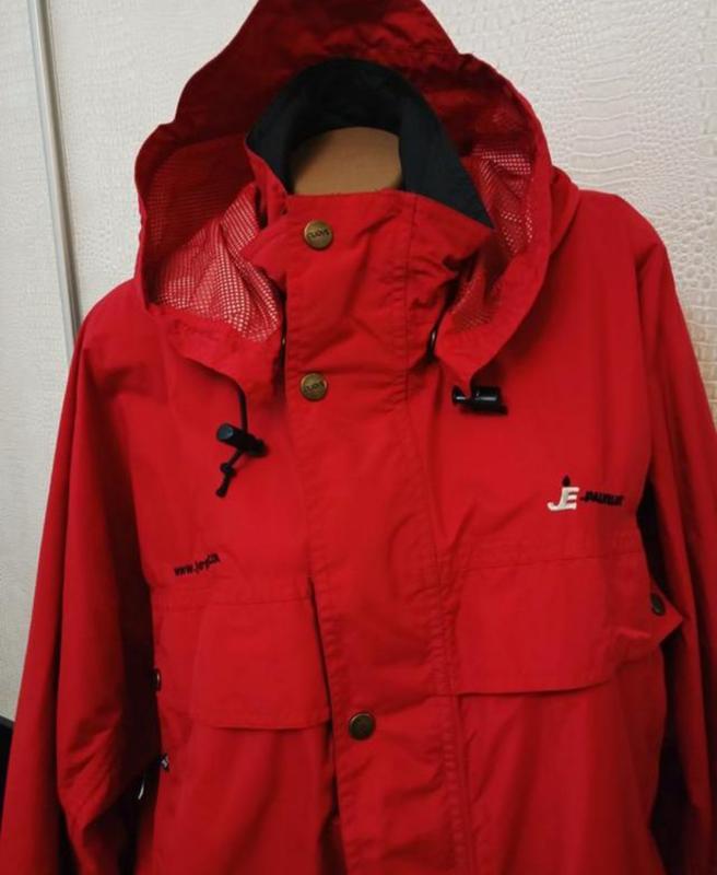 Мужская весенняя осенняя куртка ветровка дождевик clique - Фото 6
