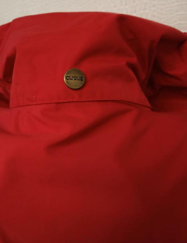 Мужская весенняя осенняя куртка ветровка дождевик clique - Фото 8
