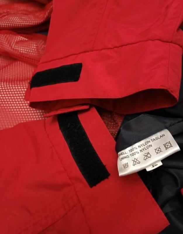 Мужская весенняя осенняя куртка ветровка дождевик clique - Фото 9