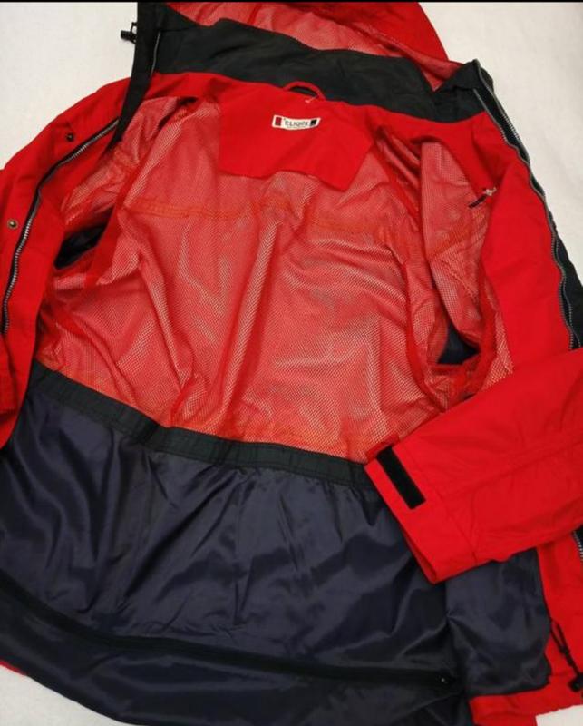 Мужская весенняя осенняя куртка ветровка дождевик clique - Фото 10
