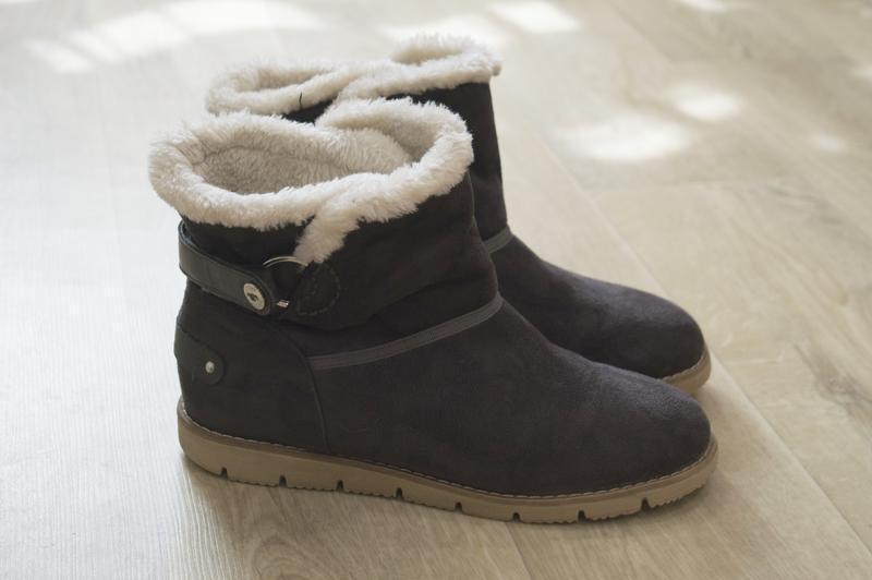 Женские ботинки  tom tailor англия зимние оригинал