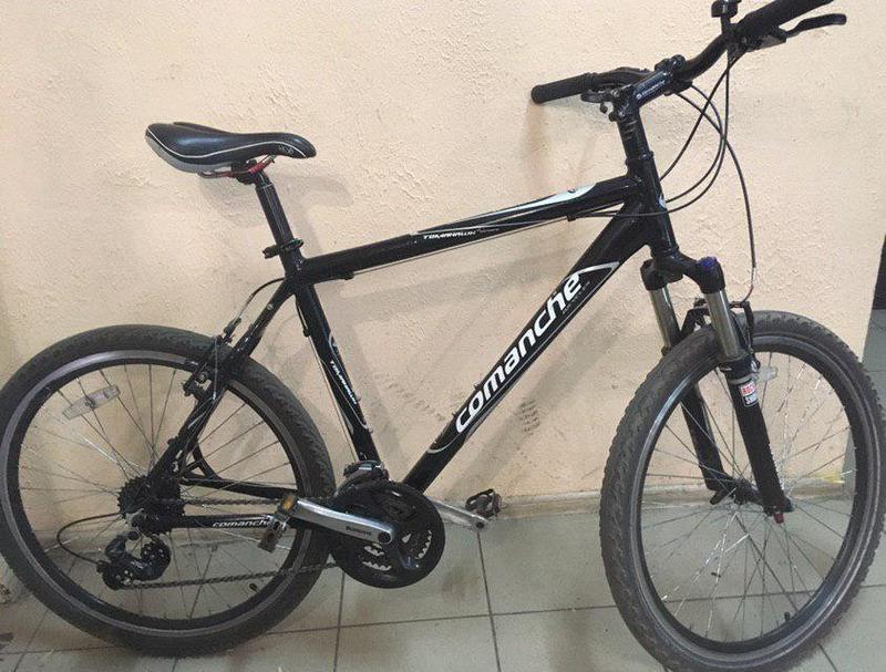Велосипед COMANCHE tomahawk+Вилка Rock Shox Recon Silver TK Solo