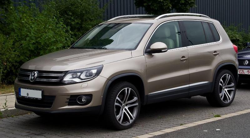 Volkswagen Tiguan 2012 2013 2014 2015 2016 2017 бампер фары ка...