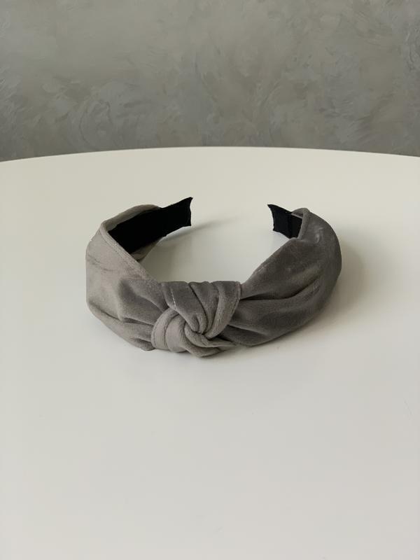 Стильный обруч ободок повязка на голову в стиле zara велюр вел...