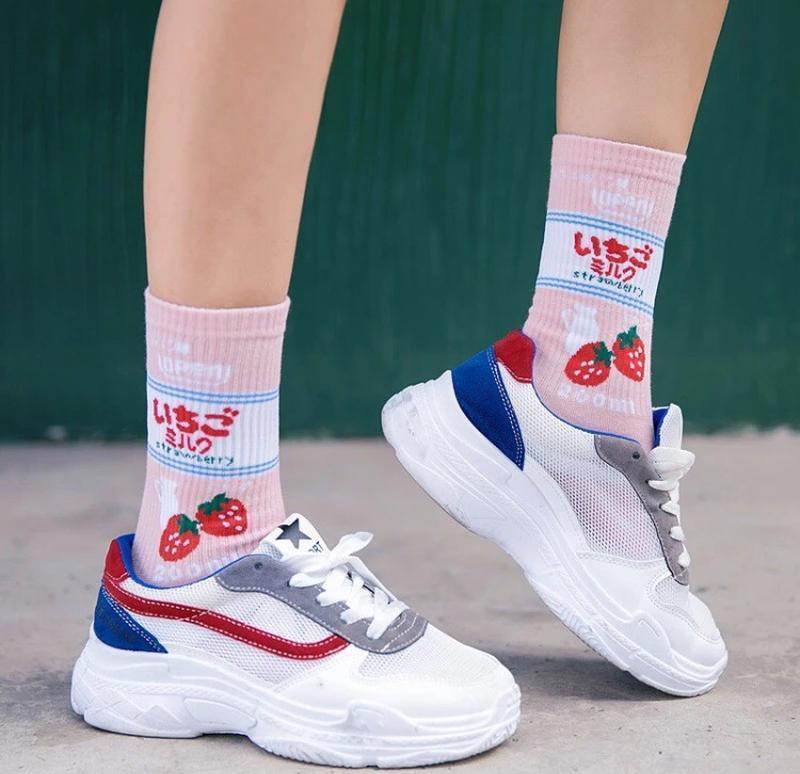 Крутые носки в японском стиле harajuku