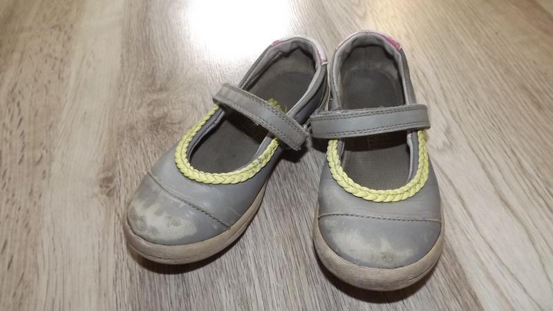 Шкіряні туфельки clarks 25р.16см.