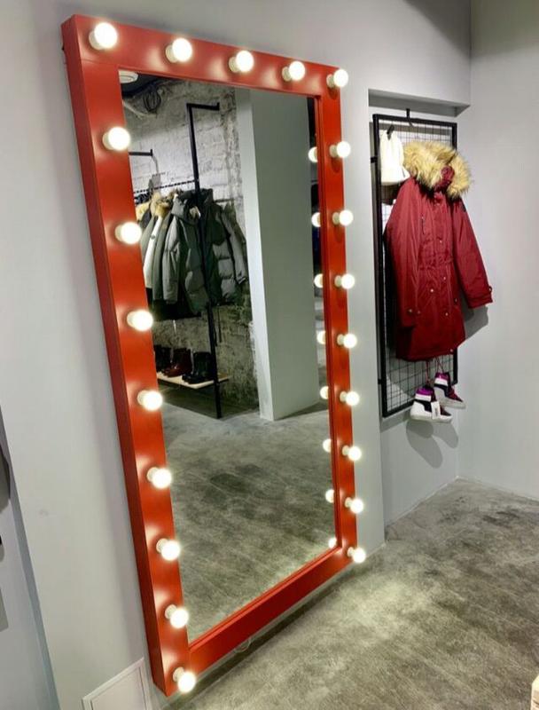 Зеркало гримёрное с подсветкой для макияжа - Фото 9