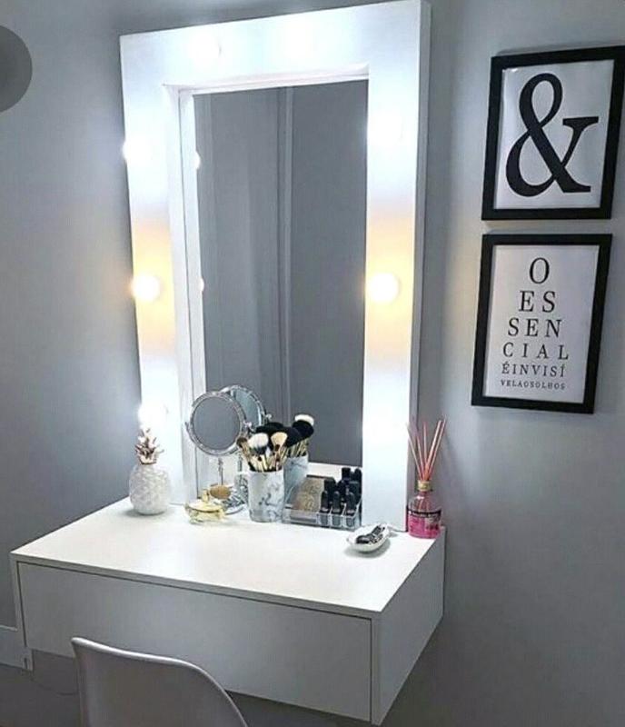 Зеркало гримёрное с подсветкой для макияжа - Фото 8