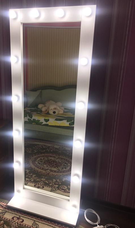 Зеркало гримёрное с подсветкой для макияжа - Фото 6