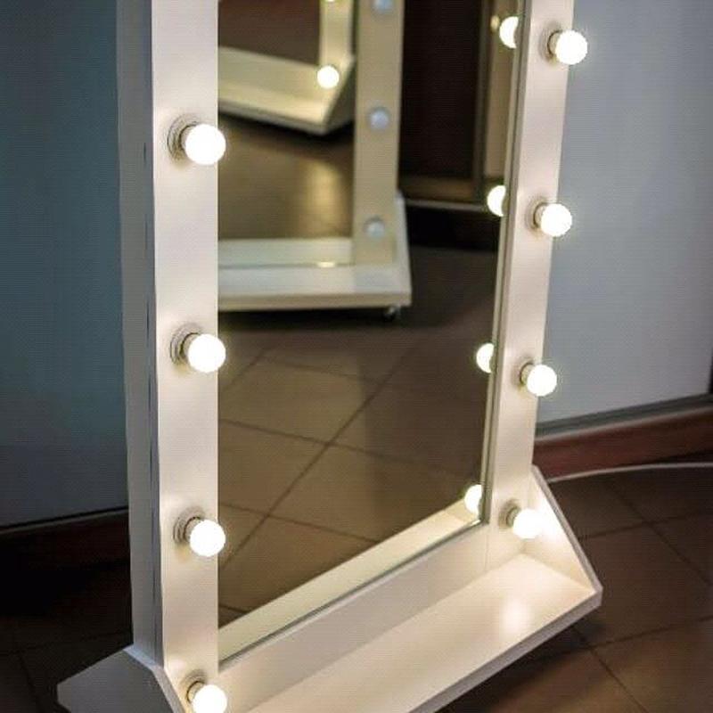 Зеркало гримёрное с подсветкой для макияжа - Фото 12