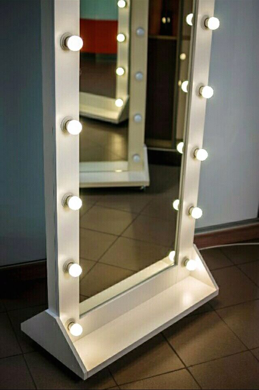 Зеркало гримёрное с подсветкой для макияжа - Фото 13