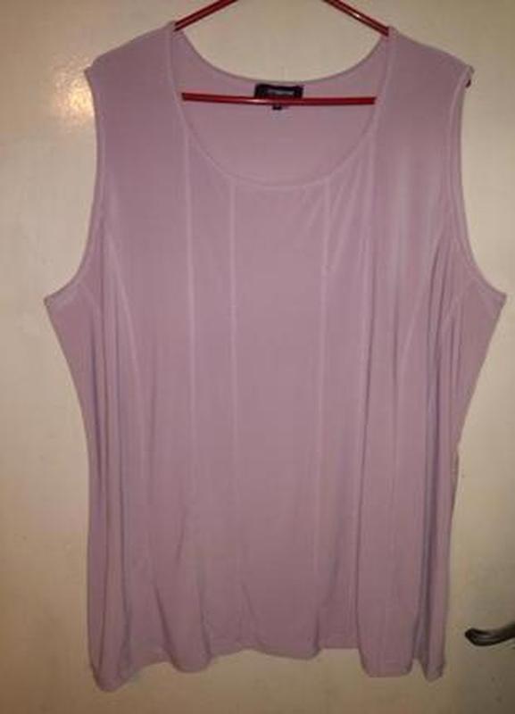 Нюдовая, женственная, трикотажная блуза, большого 22-24 размер...
